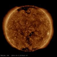 AIA 193 (Korona ve Sıcak Parlama Plazması)